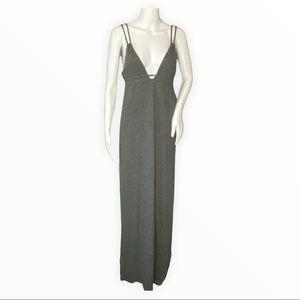 Chaser Maxi Dress Size Medium Double Strap Deep V